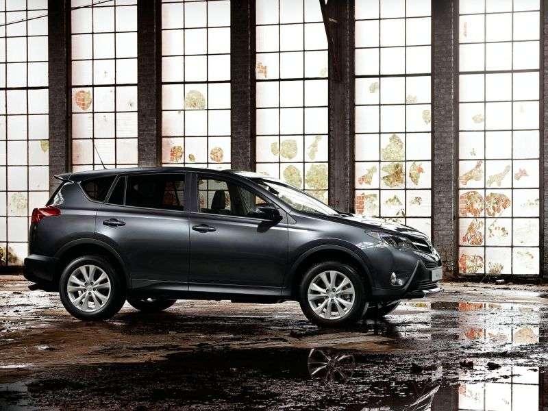 Toyota RAV4 4 generation crossover 2.0 MT Standard (2012 – n.)