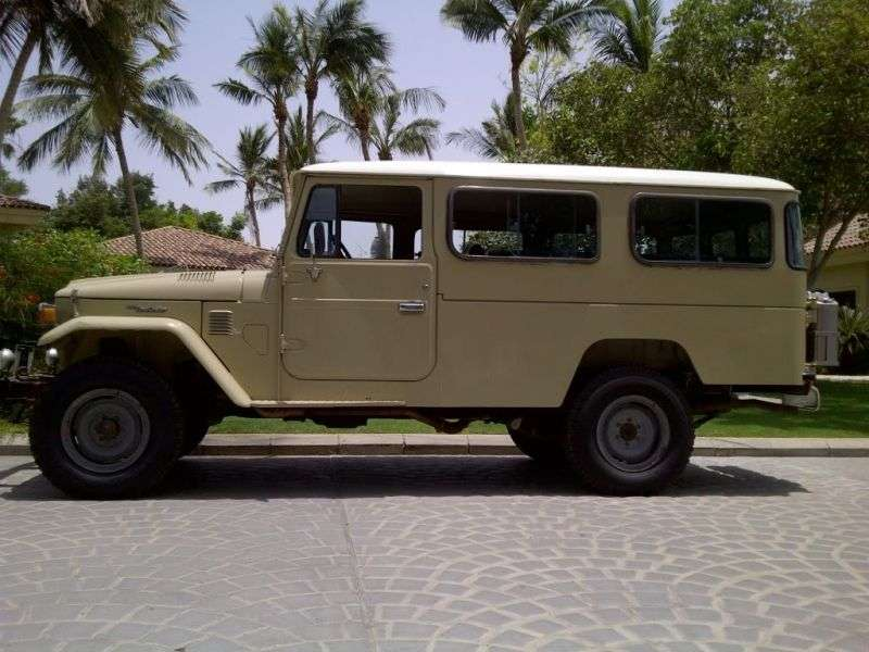 Toyota Land Cruiser J40 / J50FJ45 SUV 3 dv. 3.0 D MT AWD (1974–1984)