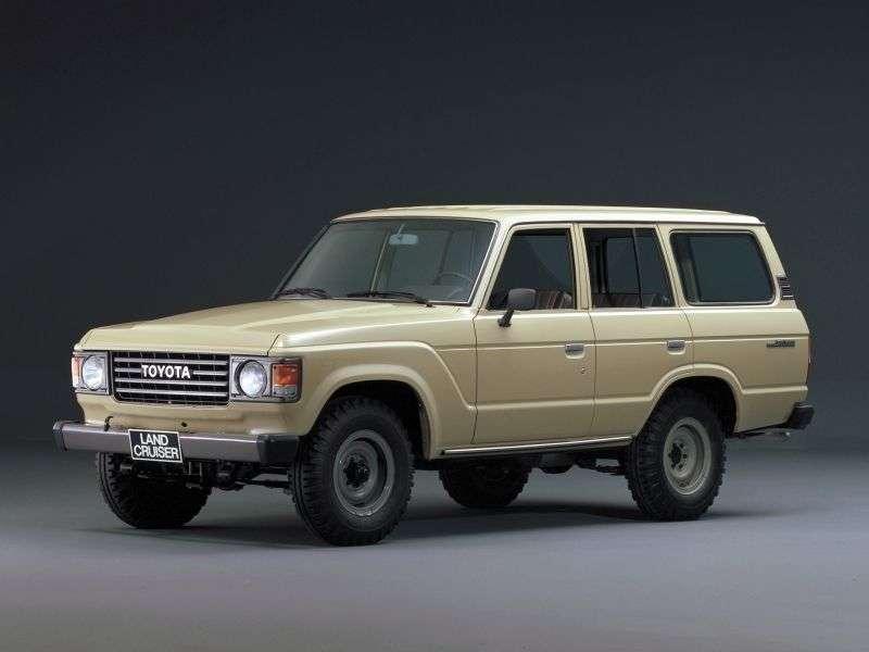 Toyota Land Cruiser J60universal 5 bit 3.4 D MT J61V STD Roof (1980–1987)
