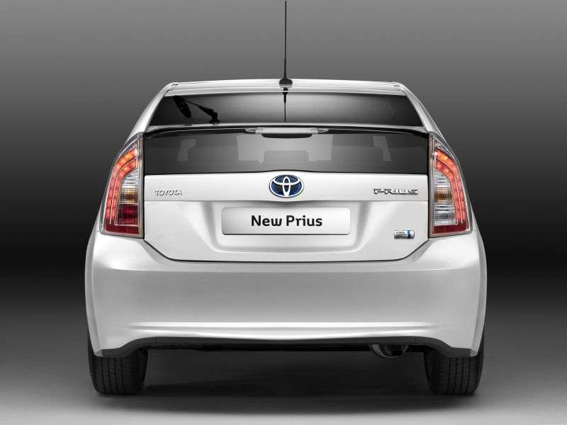 Toyota Prius 3 generation [restyling] hatchback 1.8 CVT Suite (2011 – n.)