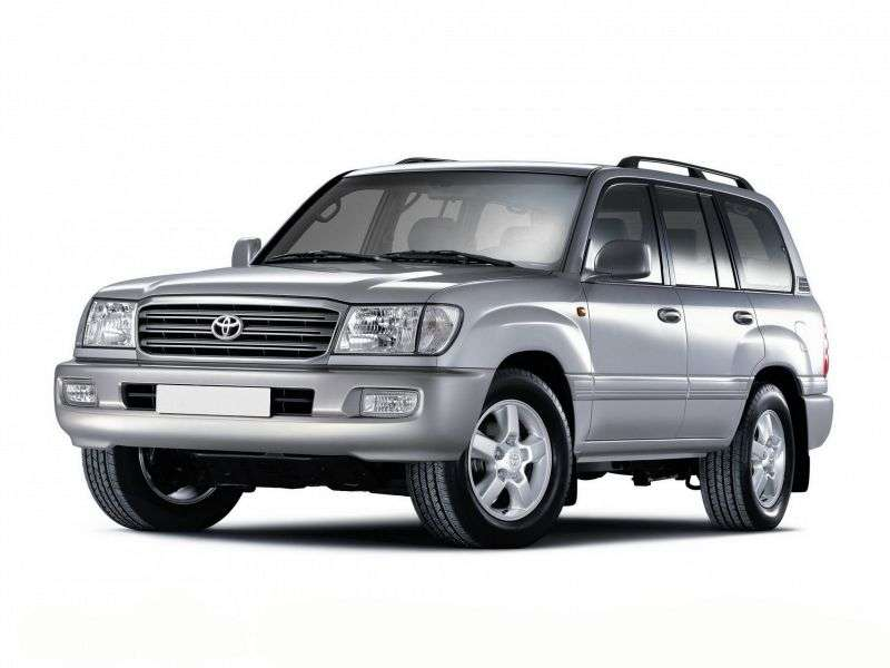 Toyota Land Cruiser J100 [restyled] SUV 4.5 AT (2003–2005)