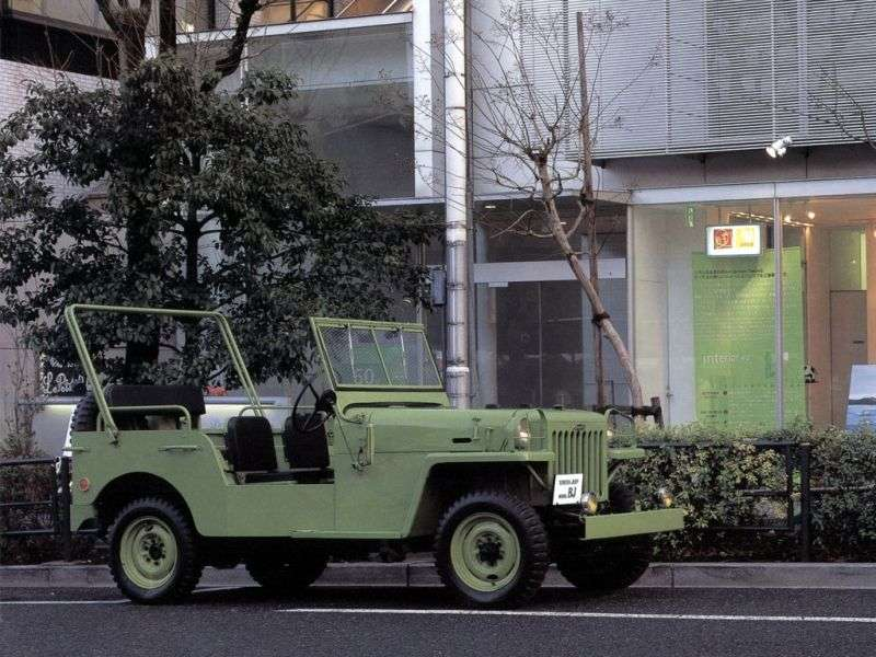 Toyota Land Cruiser BJ cabriolet 3.4 MT (1951–1954)