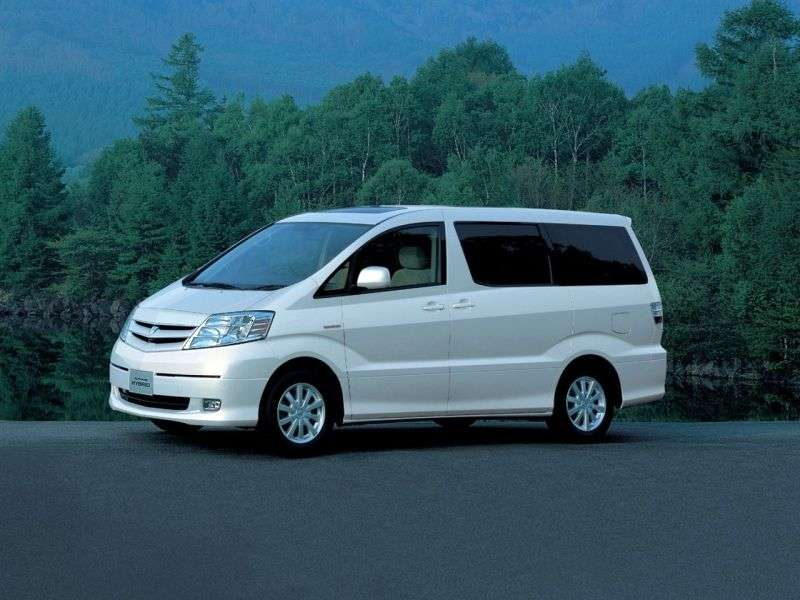 Toyota Alphard 1st generation Hybrid 5 door minivan 2.4 CVT (2003–2008)