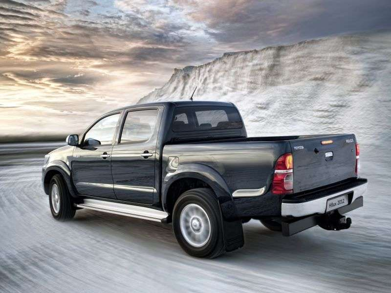 Toyota Hilux 7th generation [2nd restyling] Double Cab pickup 2.5D MT Turbo AWD Comfort (2011 – n.)
