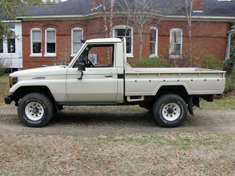 Toyota Land Cruiser J70J75 pickup 4.2 D MT (1984–1990)