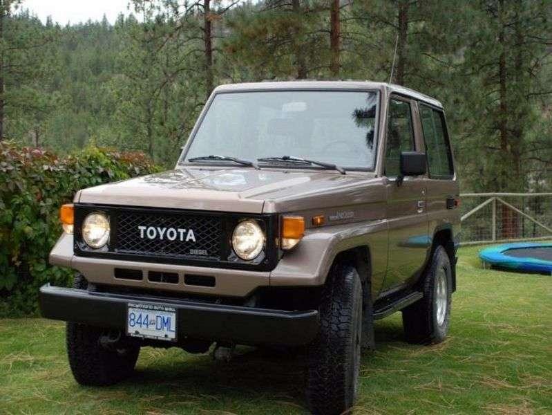 Toyota Land Cruiser J70BJ70 SUV 3 dv. 3.4 MT J71 (1985–1990)