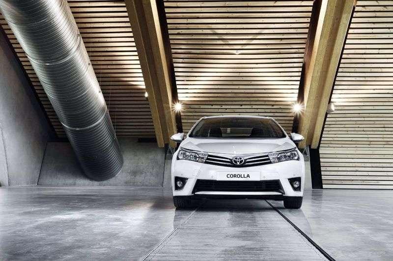 Toyota Corolla E160sedan 1.6 CVT Elegance (2013) (2013 – present)