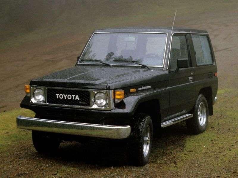 Toyota Land Cruiser J70BJ70 SUV 3 dv. 3.4 MT J70 (1984–1985)