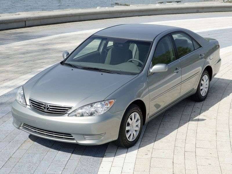 Toyota Camry XV30 [restyling] 2.4 MT Overdrive sedan (2005–2005)
