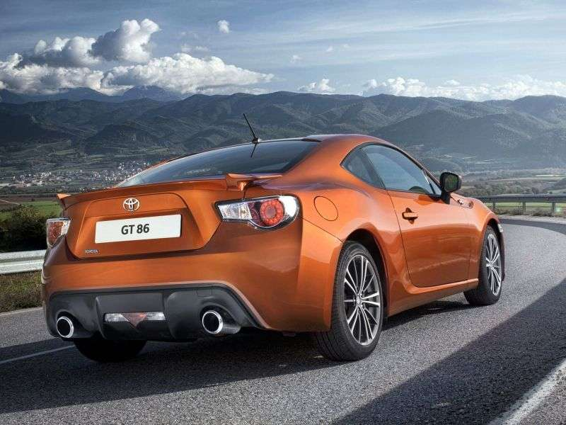 Toyota GT 86 1st generation coupe 2.0 MT Elegance (2012) (2012 – n. In.)