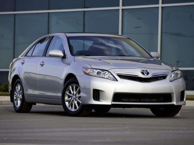 Toyota Camry XV40 [restyling] Hybrid 4 door sedan. 2.4 Hybrid CVT (2010–2011)