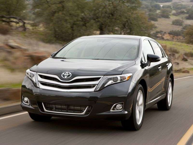 Toyota Venza 1st generation [restyled] 2.7 AT AWD crossover Elegance Plus (2012 – n.)