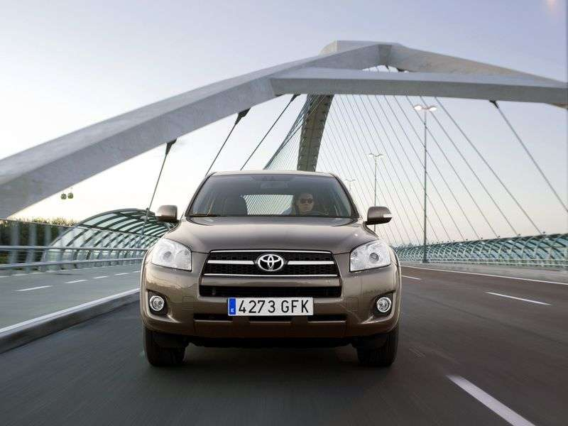 Toyota RAV4 3rd generation [restyled] crossover 2.4 AT Long (2009–2010)