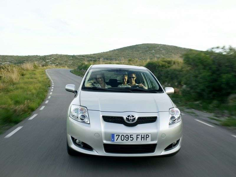 Toyota Auris 1 generation hatchback 3 dv. 1.8 CVT (2006–2009)