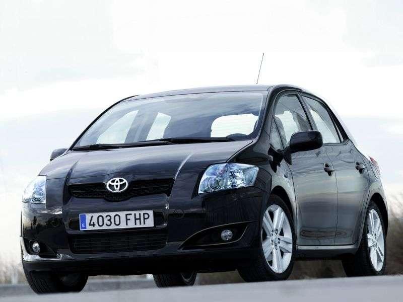 Toyota Auris 1 generation hatchback 5 dv. 1.6 MT (2006–2009)
