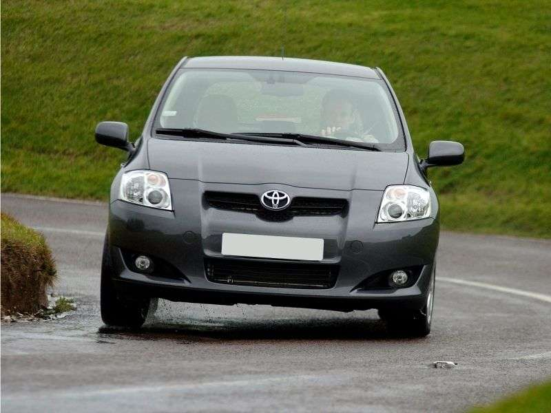 Toyota Auris 1 generation hatchback 3 dv. 1.4 D 4D 6MT (2009–2009)