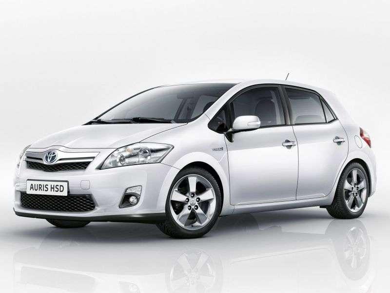 Toyota Auris 1st generation [restyled] Hybrid 5 dv hatchback 1.8 CVT (2010–2012)