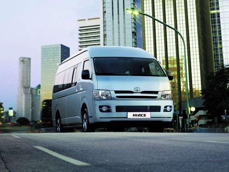 Toyota Hiace H200 Minibus 2.7 MT Standard (2012) (2004 – present)