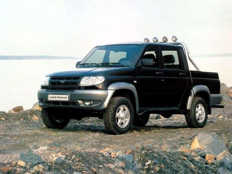UAZ Pickup 1st generation pickup 2.7 MT 4WD Classic (2007–2012)