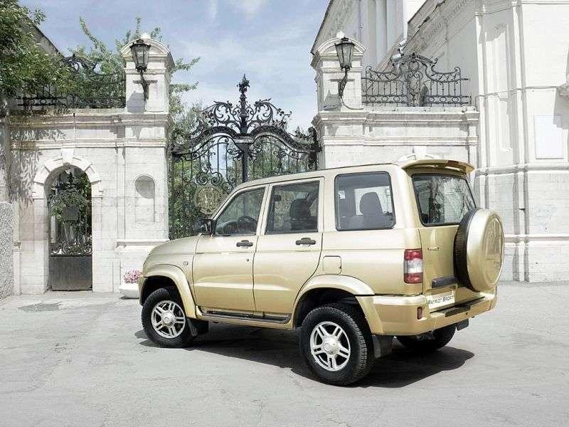 UAZ Patriot 1st generation Sport SUV 5 doors 2.7 MT Classik (2010–2011)