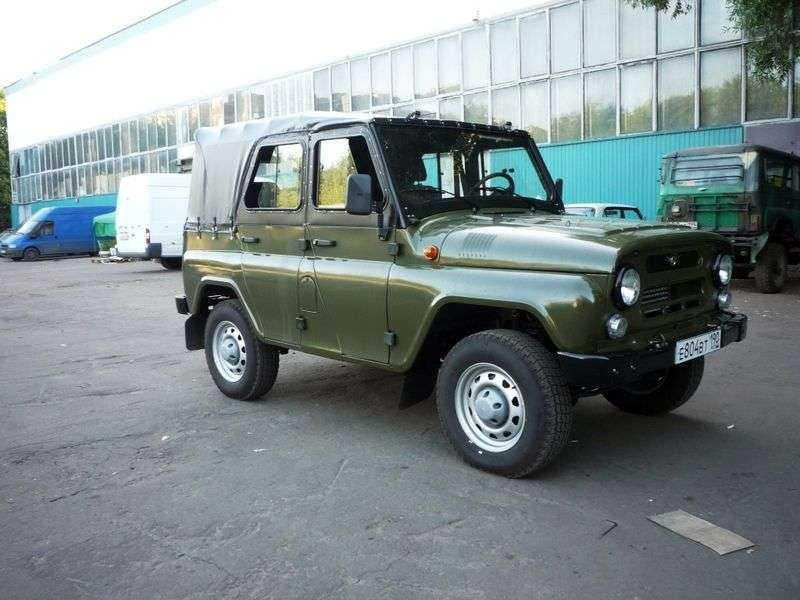 UAZ 469 1st generation convertible 2.7 MT 4WD Basic (2010 – current century)