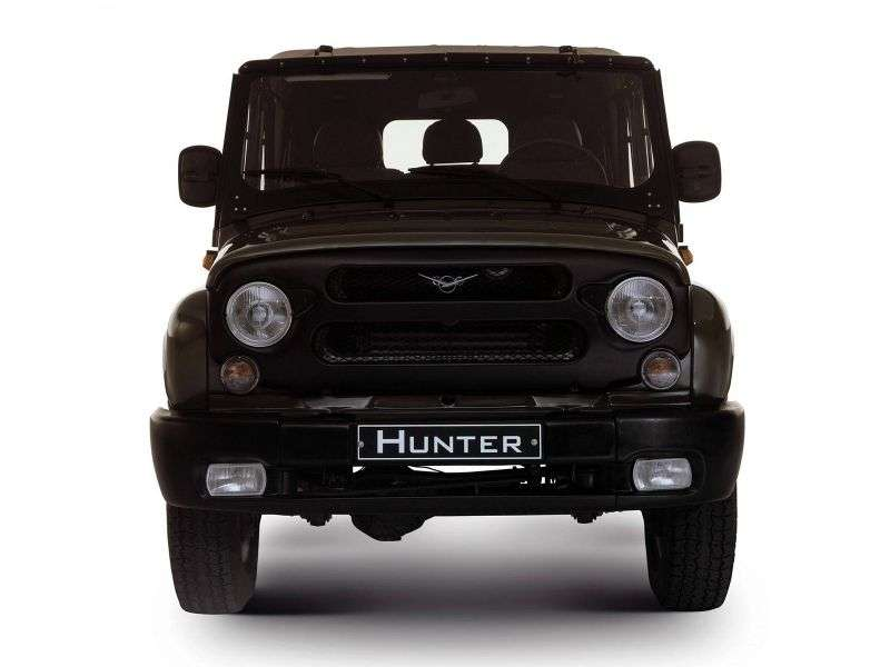 UAZ Hunter 1st generation SUV 2.4 D MT (2003 – BC)