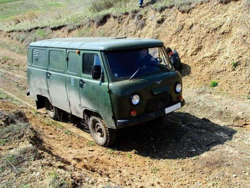 UAZ 452 2nd generation 3741 5 door van. 2.7 MT Basic (2013) (1985 – in.)