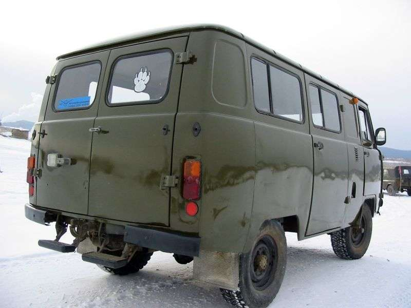 UAZ 452 2nd generation 39625 5 door van. 2.4 MT (1986–1996)