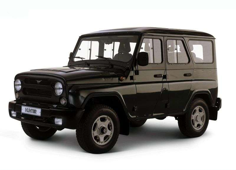UAZ Hunter 1st generation SUV 2.9 MT (2004 – n.)