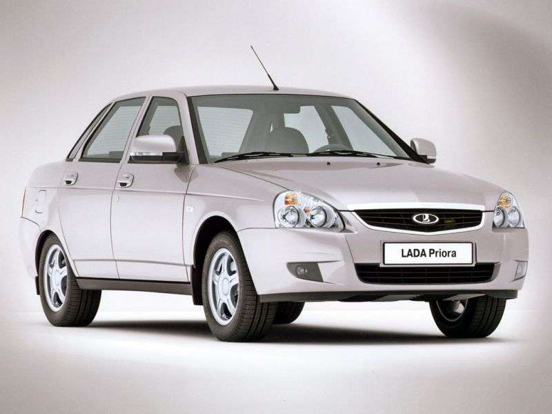 VAZ (Lada) Priora 1st generation 2170 sedan 1.6 MT 16 cl (Euro 3) 21703 81 035 Norma (2007–2012)
