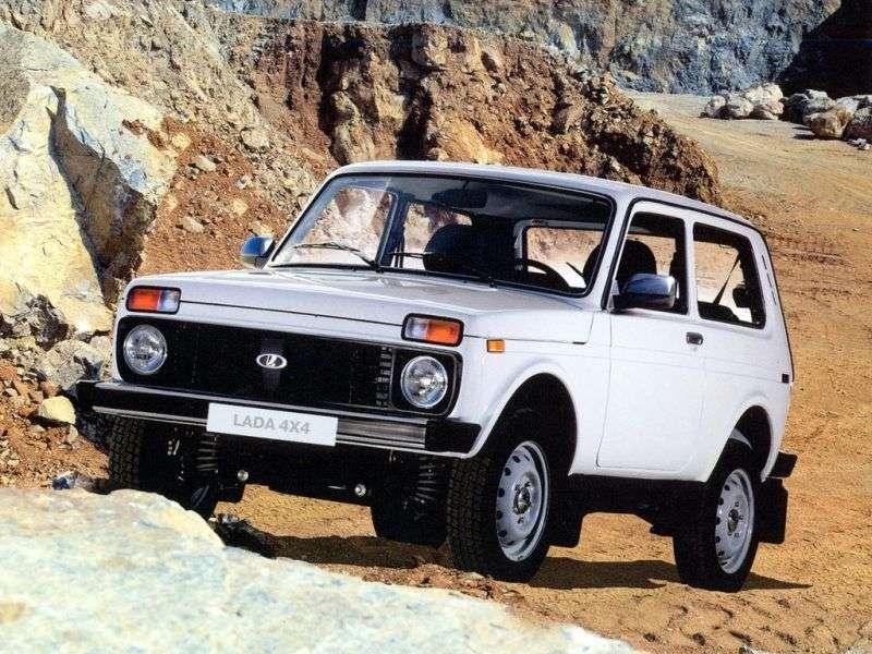 VAZ (Lada) 4x4 21214 SUV 3 doors 1.7 MT 8 cl. (Euro 4) Standard 21214 40 023 (2013) (2011 – present)
