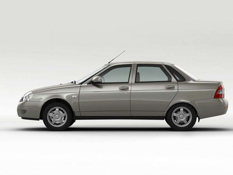 VAZ (Lada) Priora 1st generation 2170 sedan 1.6 MT 16 cells (Euro 4) 21703 23 049 Suite (2013) (2011 – present)