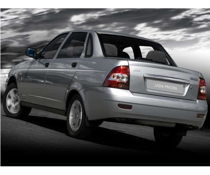 VAZ (Lada) Priora 1st generation 2170 sedan 1.6 MT 16 cl (Euro 3) 21703 03 043 Suite (2007–2012)