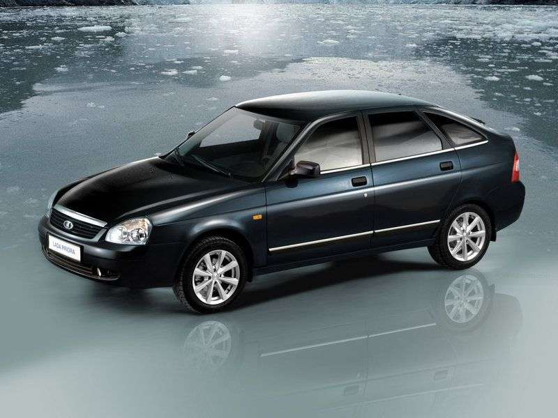 VAZ (Lada) Priora 1st generation 2172 hatchback 5 bit. 1.6 MT 16 cells (Euro 3) 21723 01 049 Norm (2007–2012)