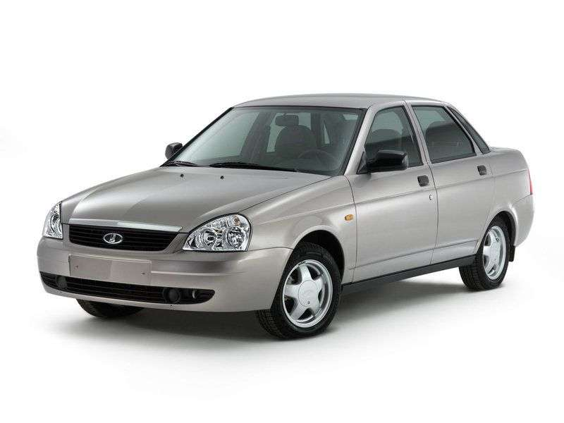VAZ (Lada) Priora 1st generation 2170 sedan 1.6 MT 16 cl (Euro 3) 21703 01 039 Norma (2007–2012)
