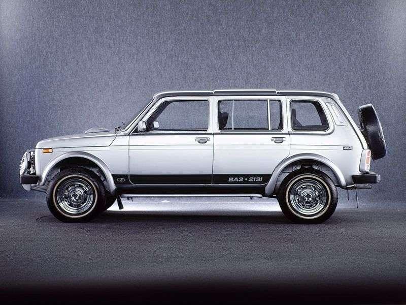 VAZ (Lada) 4x4 212132131 SUV 5 doors 1.7 MT 8 cl. (Euro 3) Standard 21310 30 010 Standard (1995–2011)