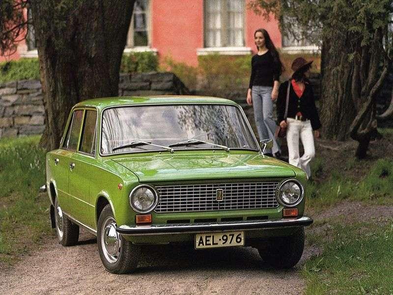 VAZ (Lada) 2101 1st generation sedan 2101 (1978–1988)