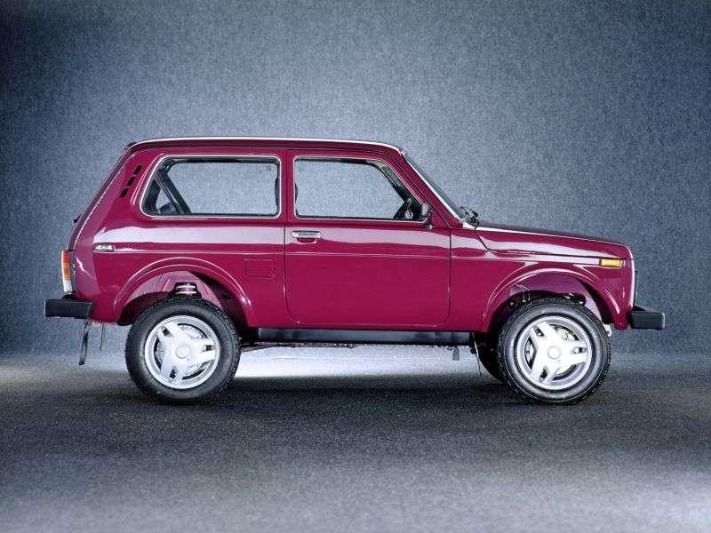 VAZ (Lada) 4x4 21213 SUV 3 doors 1.7 MT (1994–2007)