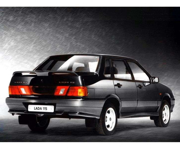 VAZ (Lada) 2115 1st generation sedan 1.6 MT 8 cells (Euro 4) 21154 40 022 Standard (2013) (2011–2012)