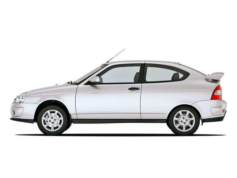VAZ (Lada) Priora, 3 drzwiowy sportowy hatchback pierwszej generacji. 1.6 MT 16 cl (Euro 3) 21728 12 048 Sport (2010 2011)