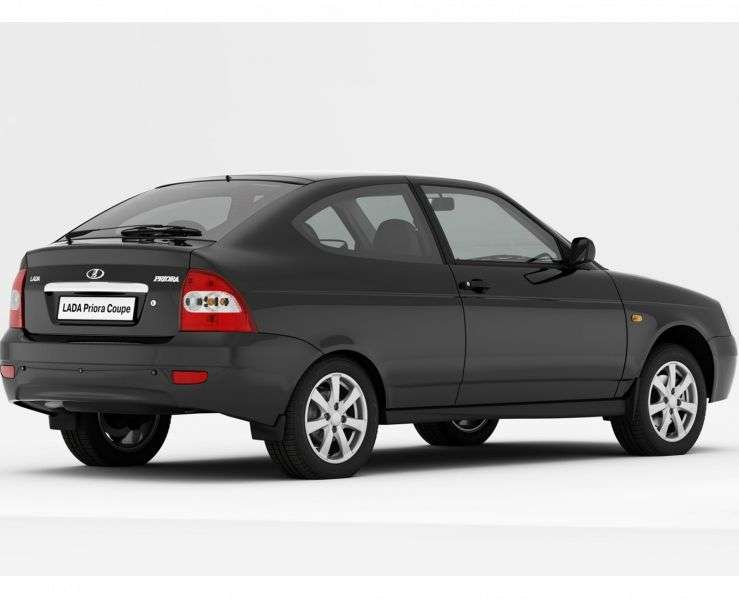 VAZ (Lada) Priora 1st generation 2173 hatchback 3 bit. 1.6 MT 16 cells (Euro 3) Lux (7,208 03 018 (2010–2011)