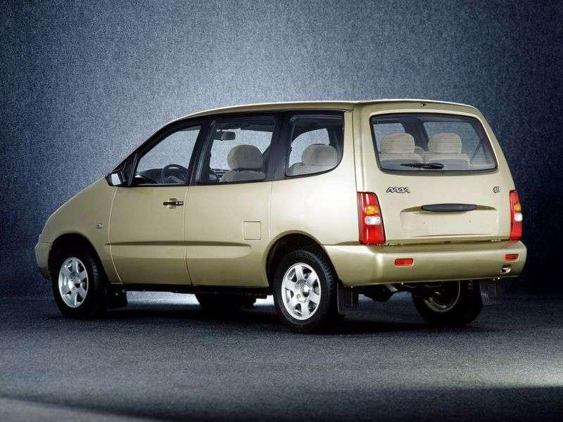VAZ (Lada) 2120 Nadezhda 2120m [restyling] minivan 4 dv. 1.8 MT (1999–2005)