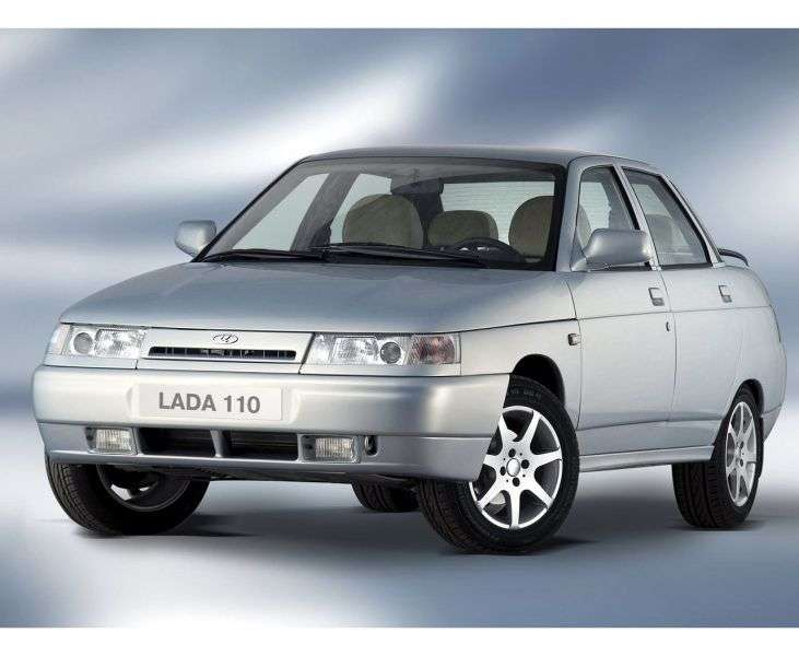 VAZ (Lada) 2110 1st generation 4 door sedan. 1.6 MT 21101 (2004–2007)