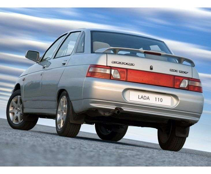 VAZ (Lada) 2110 1st generation 4 door sedan. 1.6 MT 21104 (2004–2007)