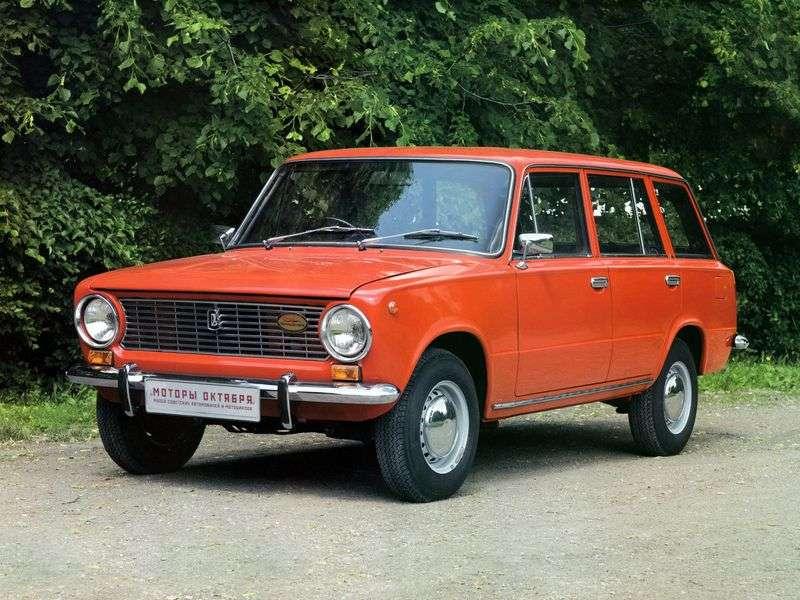 VAZ (Lada) 2102 1st generation 1.2 MT wagon (1971–1984)