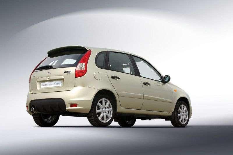 VAZ (Lada) Kalina 1st generation Sport hatchback 5 bit. 1.6 MT 16 cells (Euro 4) Lux 11196 43 494 (2012) (2011–2013)