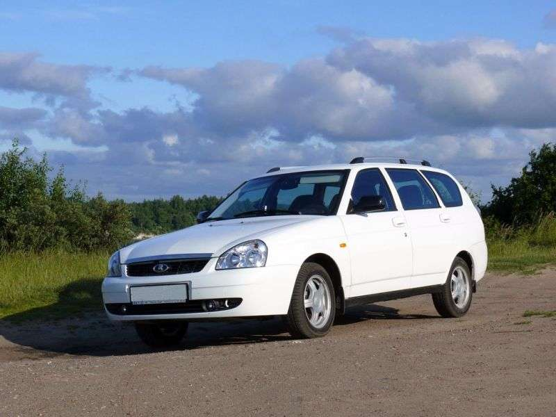 VAZ (Lada) Priora 1st generation 2171 station wagon 1.6 MT 16 cells (Euro 4) 21713 24 041 Lux (2013) (2011 – current century)