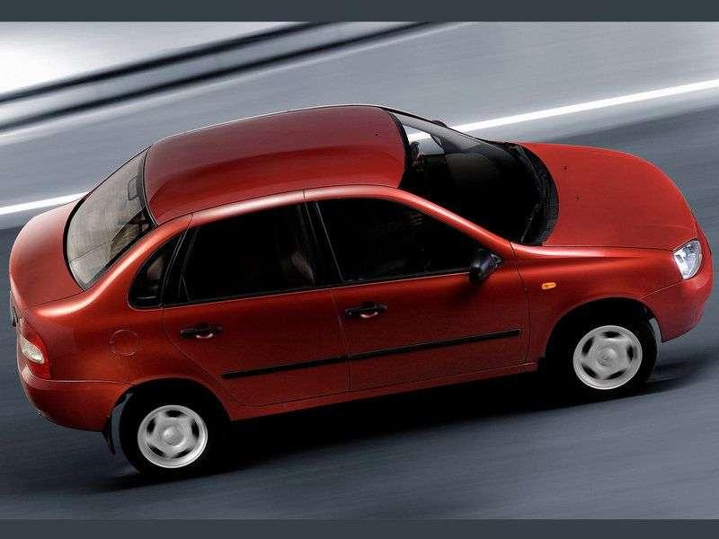VAZ (Lada) Kalina 1st generation 1118 sedan 1.6 MT 8 cl 11183 30 046 Norma (2004–2011)