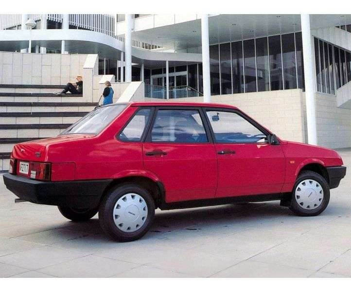 VAZ (Lada) 2109 1st generation 21099 sedan 1.5 MT (1994–2005)