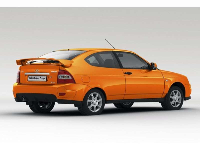 VAZ (Lada) Priora 1st generation Sport hatchback 3 bit. 1.6 MT 16 cells (Euro 4) 21728 12 048 Sport (2011 – present)